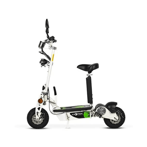 patinete eléctrico con sillín scooter